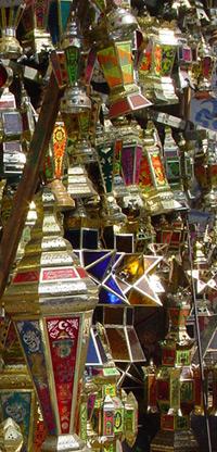 Lampes de Ramadan